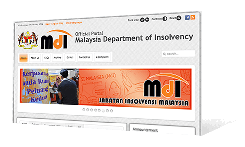 Malaysia Department of Insolvency